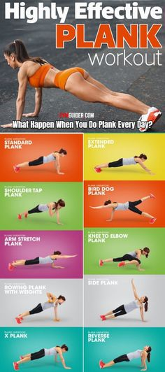 Plank Variations That Will Transform Your Core - Planks are so, so good for you. But they're also kind of, well, boring. Holding a plank for 30 to - Gym Workout Tips, Fitness Workout For Women, Insanity Workout, Plank Workout, Fitness Workouts, At Home Workouts, Fitness Motivation, Core Workouts, Workout Plans