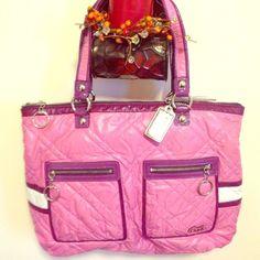 "Selling this ""Like new, limited edition coach poppy purse"" in my Poshmark closet! My username is: bogrady0123. #shopmycloset #poshmark #fashion #shopping #style #forsale #Coach #Handbags"
