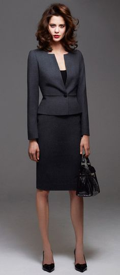 Amazing MaxMara two-piece suit! | Suits | Pinterest | Hourglass ...