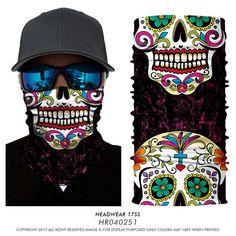 JoyFan Visage v/élo Masques de t/ête /écharpe 3D Joker mod/èle de cr/âne Masque Cache-Cou Masque Masque Facial