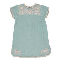 Kleid mit Stickerei Noémie Louis Louise Kind- Große Auswahl an Mode auf Smallable, dem Family Concept Store – Über 600 Marken.