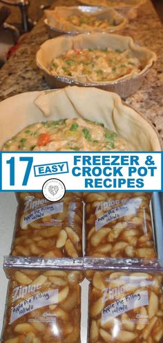 25 Easy Recipes You Can Make in a Slow Cooker Freezer crock pot recipes are easy and quick make-ahead meal ideas. Just dump and go! We've gathered THE BEST LIST of crockpot freezer meal ideas that everyone craves on busy weeknights. Crock Pot Recipes, Slow Cooker Recipes, Cooking Recipes, Freezer Recipes, Cooking Tips, Turkey Recipes, Cooking Videos, Pizza Recipes, Girl Cooking