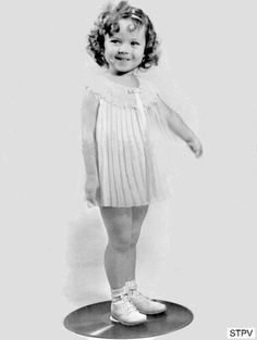 The adorable, Shirley Temple.