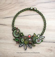 Hey, I found this really awesome Etsy listing at https://www.etsy.com/listing/555850101/autumn-soutache-necklace-with-swarovski