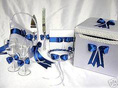 Royal-Blue-Flower-Girl-Basket-Pillow-Money-Card-Box