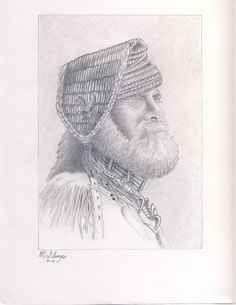Mountain Man by Michael Slamp Standard Print by dbCoopArtPromotion, $15.00