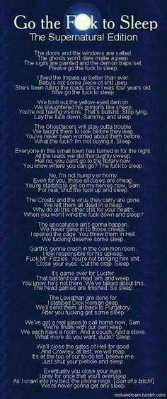 Supernatural lullaby