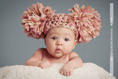 Cabbage patch baby! I this not the most adorable cap!! I have to try & figure this pattern out!!!