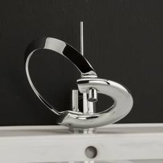 One of my favorites.  This is the Lacava Embrace Faucet #0510.  Yes, we actually sell this faucet on our website.