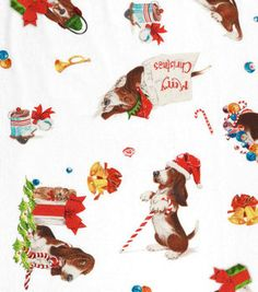 Holiday Inspirations Christmas Fabric- Spencer's Christmas