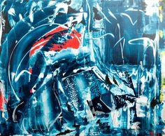 Zilvermijn, schilderij van Kuhlmann Kunst, Twan Kuhlmann .. Kunst / Abstract / Modern / Schilderij