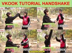VKook's Cute Handshake!..