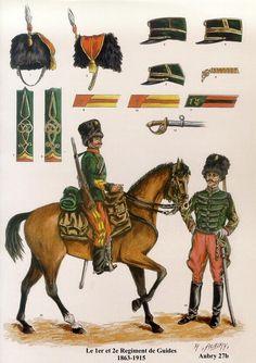 L'artillerie et le Train d'Artillerie Les planches uniformologiques de Robert Aubry