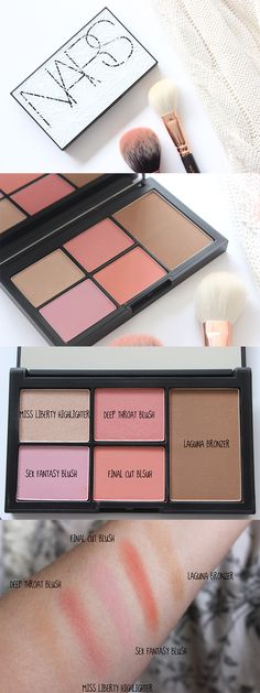The NARS Virtual Domination Cheek palette is dreamy...