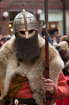 Awesome Helmet!!! Jorvik Viking Festival 2012 by alh1, via Flickr