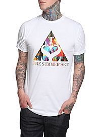 HOTTOPIC.COM - The Summer Set Triangle T-Shirt