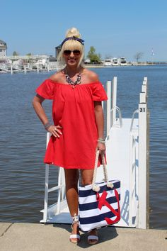 Nautical and Off The Shoulder LOVE!!