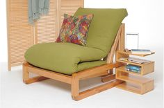 Loop - Single Seater Solid Birch Sofa Bed