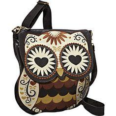 Loungefly Owl With Heart Eyes Crossbody Bag