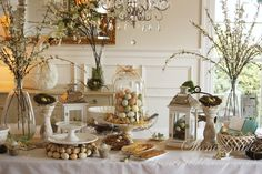 SPRING - cute table setting - stonegable