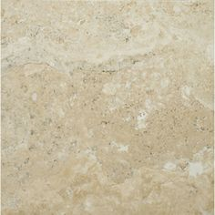This tile, only in 4x4; Emser 16-in x 16-in Natural  Travertine Wall and Floor Tile - looks better on the wall than the swatch!