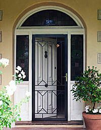 Aluminum Security Screen Door home security doors phoenix installation | security screen doors