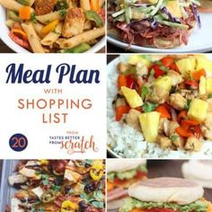 Weekly meal plans 515310382364680833 - Free Weekly Meal Plans (with Grocery Lists) – Tastes Better from Scratch Source by Healthy Cooking, Healthy Eating, Weekly Dinner Menu, Dinner This Week, Free Meal Plans, Menu Planning, Main Meals, Grocery Lists, Real Food Recipes