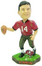 Tampa Bay Buccaneers Brad Johnson Game Worn Forever Collectibles Bobblehead