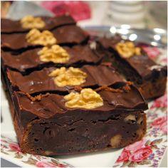 Brownie de Nozes. Receita by Condimento.