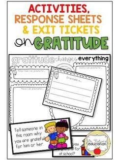 Gratitude changes everything. The daily practice of gratitude has many benefits. This classroom guidance lesson on gratitude encourages and starts the conversation of the daily practice of gratitude, being thankful, and showing that you are grateful. Elementary School Counseling, Career Counseling, School Counselor, Elementary Schools, Physical Education Games, Character Education, Elementary Guidance Lessons, Gratitude Changes Everything, School Themes