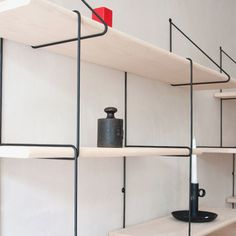 The Link Shelf offers an update on a classic modular shelving system