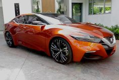 Nissan Sport Sedan Concept - Are you the 2015 Maxima?