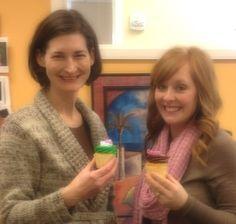 Celebrating Colleen's CSG anniversary and Brianna's birthday!