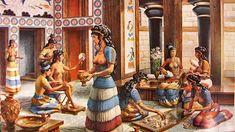 Minoan Civilization, the palace of Knossos