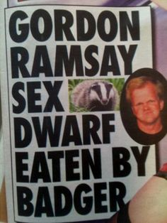 10 Of The Most Ridiculous News Headlines