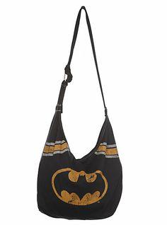 DC Comics Batman Hobo Bag | Hot Topic