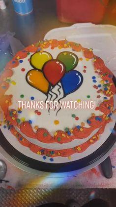 Cake Decorating Piping, Cake Decorating Designs, Creative Cake Decorating, Birthday Cake Decorating, Cookie Decorating, Cake Decorating For Beginners, Cake Decorating Techniques, Cake Decorating Tutorials, Cupcake Cake Designs