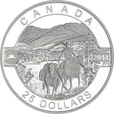 25 Dollar Silber O Canada - Cowboy PP