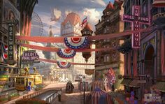 Art Travels From BioShock Infinite To The Xbox One's Launch