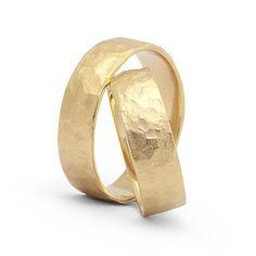 Trauringe massiv 585 Gold, Eheringe Brillant Hochzeitsringe Gravur eigene Handschrift Gelbgoldold Trauringe