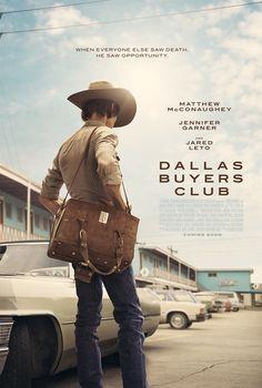 Dallas Buyers Club 達拉斯買家俱樂部 海報  導演:Jean-Marc Vallée 編劇:Craig Borten /  Melisa Wallack