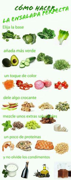 Como preparar una ensalada