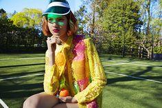 Tennis Girls by Liz von Hoene #tennis #girls #model #people #fashion
