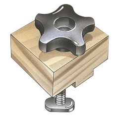 Stop Block Kit - Woodworking Jigs > Jig Parts & Kits > Jig Knobs, T-Bolts and...