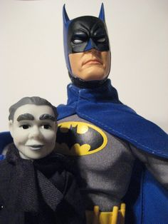 Scarface And Ventriloquist Dark Knight Rises DC Universe