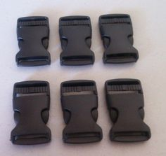 6 pcs Plastic Bluckles by Misstutti on Etsy, $5.85