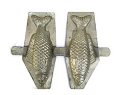 Antique French Chocolate Fish Mold. by LeBonheurDuJour on Etsy, $60.00