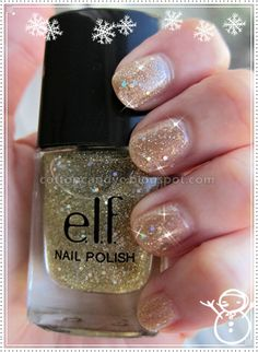 Sparkling Holiday Nails
