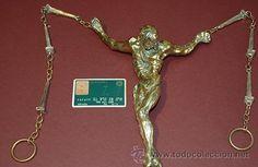 """Escultura de bronce de Salvador Dali """"Cristo de San Juan de la Cruz"""", certificado / Arte en todocoleccion"""