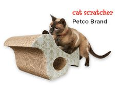 Save your furniture and give your cat hours of satisfying cat-scratching pleasure all season long with this unique bird-shaped gift.